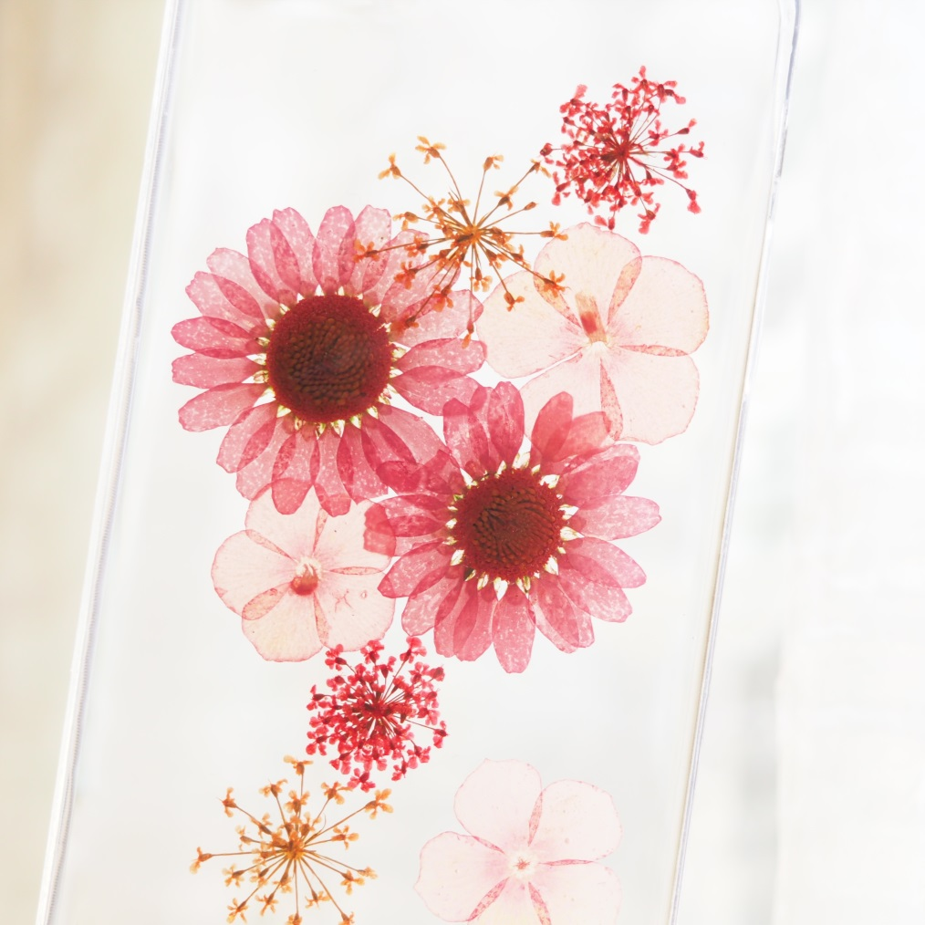IPhone 6 Case, IPhone 6 Plus Case, Pink Little Daisy Phone Case ...
