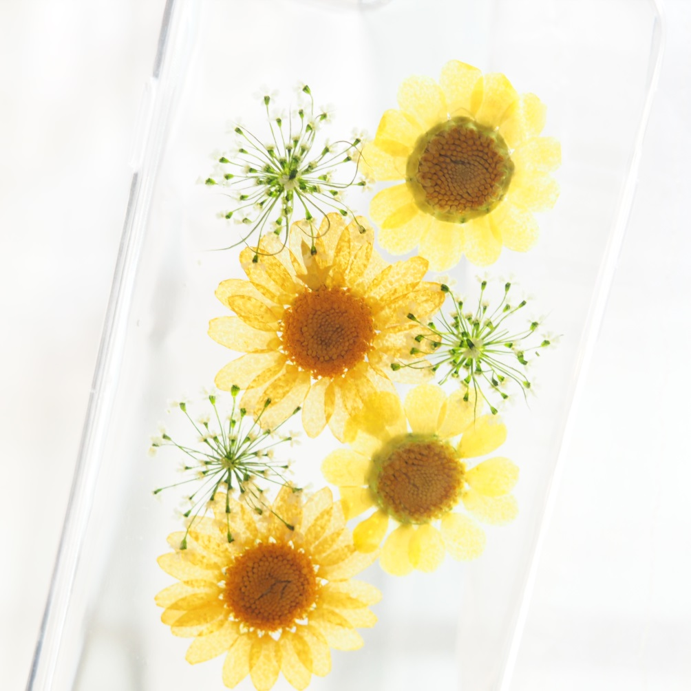 Iphone 6 case iphone 6 plus case yellow little daisy phone case real pressed flower iphone case wild flower iphone case handmade phone case iphone 6 case iphone 6 plus case yellow little daisy phone case real pressed flower iphone case wild flower iphone